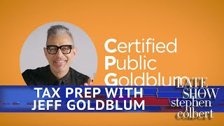 Let Jeff Goldblum Do Your Taxes