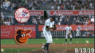 New York Yankees Highlights: vs Baltimore Orioles | 8/13/19