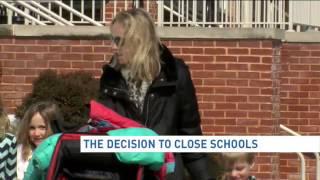 Decision behind school closings and delays