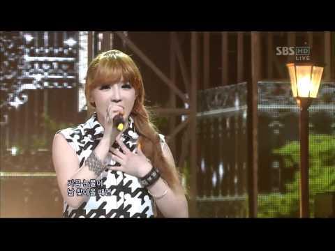 SBS 인기가요-2NE1[박봄 Don't Cry](623회)