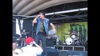 Silverstein- Your Sword Versus My Dagger/Vices- Vans Warped Tour 2013/Monster Stage collapse