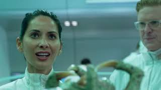 The Predator- Human DNA scene