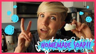 MY DRUNK KITCHEN: Homemade Soap!