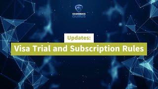 Visa Trial Subscriptions