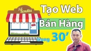 Làm Website Bán Hàng Bằng WordPress - Tạo Web Bán Hàng Dễ Ợt