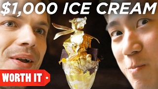 $1 Ice Cream Vs. $1,000 Ice Cream