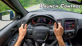 Do You Need the Durango Hellcat? 2020 Dodge Durango SRT POV Street Drive (Binaural Audio)