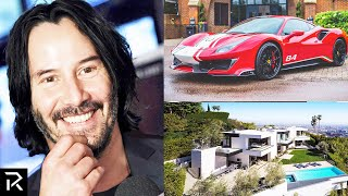 How Keanu Reeves Spent $360 Million!