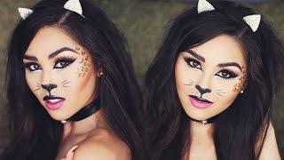 Halloween Cat Makeup Tutorial   Roxette Arisa