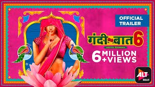 Gandii Baat Season 6 | Official Trailer |Streaming 21st Jan| Nidhi Mahawan, Keval Dasani | ALTBalaji