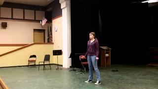 Monologue Example #1
