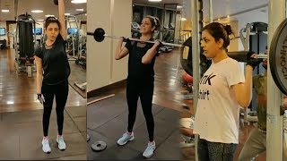 Kajal Aggarwal gym workout video..