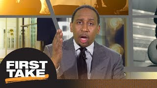 Stephen A. calls John Elway comments on Colin Kaepernick 'smug' | First Take | ESPN