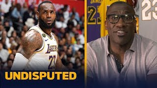 LeBron is going to win the title this year, and repeat next year — Shannon Sharpe | NBA | UNDISPUTED