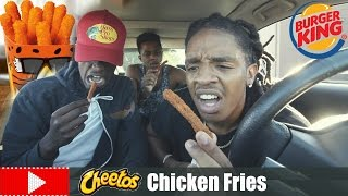 THE TRUTH ABOUT BURGER KING'S CHEETOS CHICKEN FRIES !!!