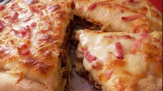 PIZZA BURGER ESTILO TELEPIZZA