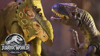 The Dinosaurs Breakout of Lockwood (Sweded) | Jurassic World: Fallen Kingdom | Mattel Action!