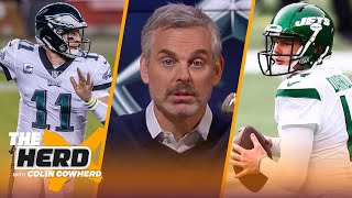 Wentz trade to Colts is a win for NFL, WFT & Bears should move on Darnold — Colin | NFL | THE HERD