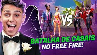 BRIGA DE CASAL NO FREE FIRE!! QUEM GANHOU?