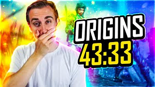 THE *NEW* ORIGINS WORLD RECORD IS MINDBLOWING!