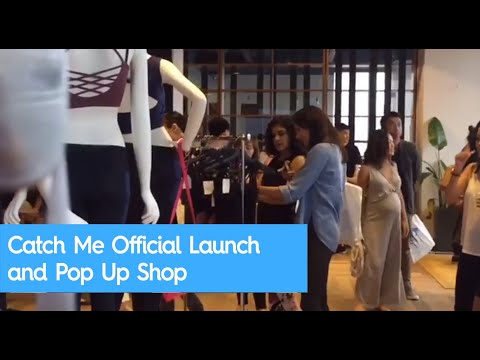 Catch Me Official Launch and Pop Up Shop