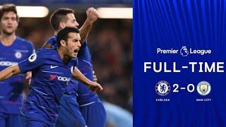 Chelsea Vs Man City 2-0 | All Goals Highlight 8/12/2018 | Ngolo Kante| David Luiz |