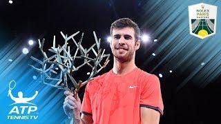 Khachanov Stuns Djokovic to Win First Masters 1000 title! | Paris 2018 Final Highlights