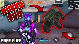 *NUEVO BUG* FREE FIRE - Entrar con *CARRO* en CASAS de FREE FIRE Revinoob