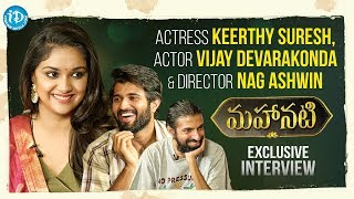 #Mahanati Keerthy Suresh & Nag Ashwin Interviewed by Vijay Devarakonda || Talking Movies With iDream