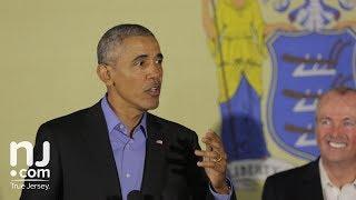 FULL SPEECH: Barack Obama speaks in Newark with Phil Murphy