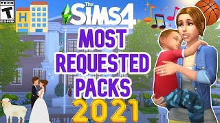 WHAT YOU WANT IN 2021- SIMS 4 WISHLIST EXPANSION, GAME AND STUFF PACKS