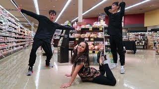 DOING CRAZY DARES WITH OUR MOM!