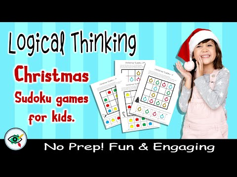 video Christmas Image Sudoku Game