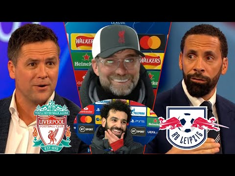 Liverpool vs Leipzig 2-0 Liverpool Into Quarter-Final