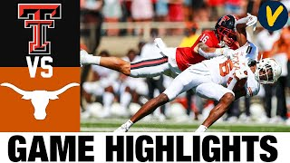 #8 Texas vs Texas Tech Highlights | Week 4 College Football Highlights | 2020 College Football