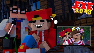 Minecraft .EXE 3.0 #3 -  A SCIENTIST TAKES ROPO .EXE'S DNA AS HE IS SLEEPING!!