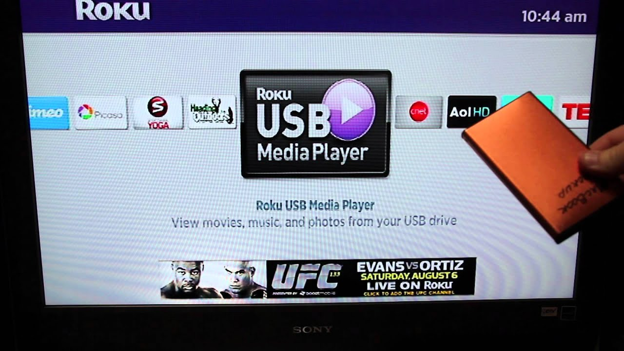 Roku Media Player Basics – USB Video, Music And Photos