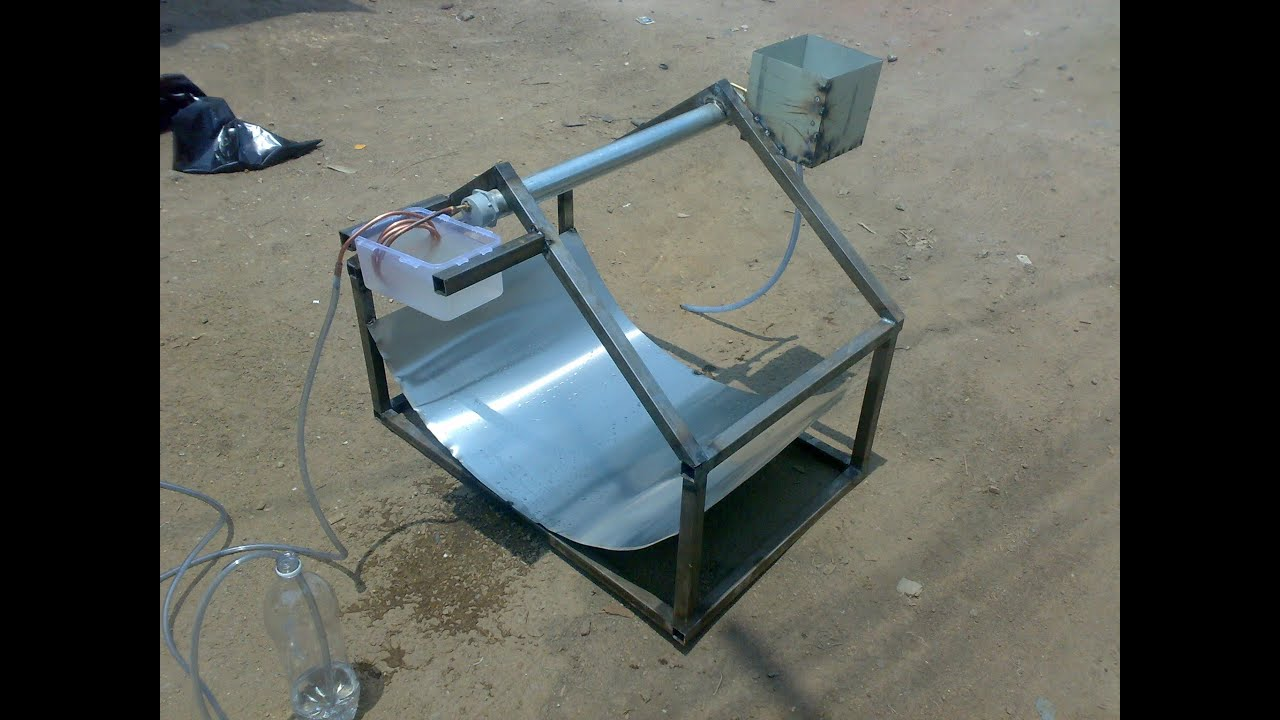 Solar Water Desalination Mechanical Project How To