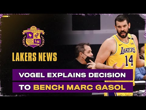 Frank Vogel Explains Decision To Bench Marc Gasol, Changes Coming For Game 2?