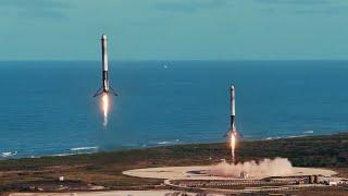 SpaceX Falcon Heavy - Tribute (HD)