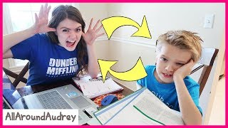 Audrey And Ty Switch Lives / AllAroundAudrey