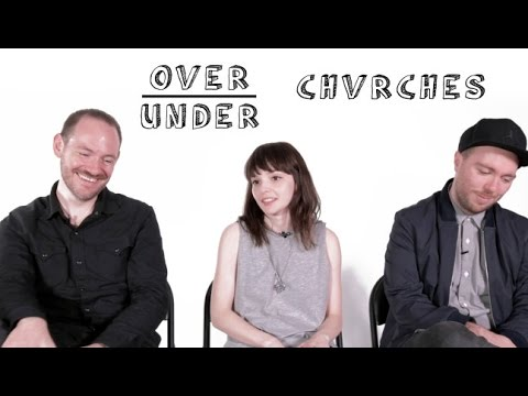 Chvrches Rate Donald Trump, Ja Rule and Rollerblading | Over/Under