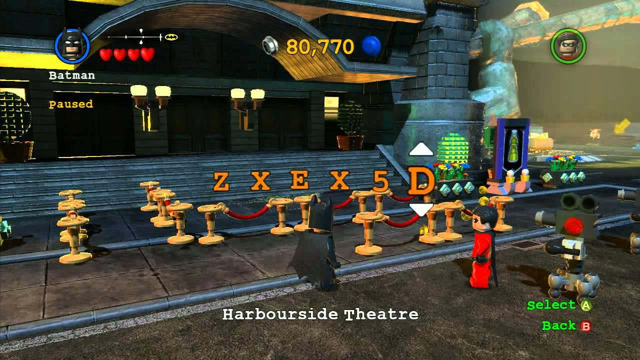 LEGO Batman 2 - Cheat Codes - YouTube