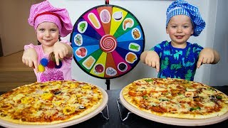 Pizza Challenge with Gaby and Alex