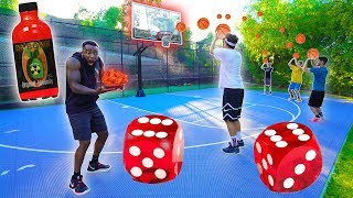 2HYPE ROLL THE DICE 3 POINT BASKETBALL HOTTEST WINGS CONTEST!