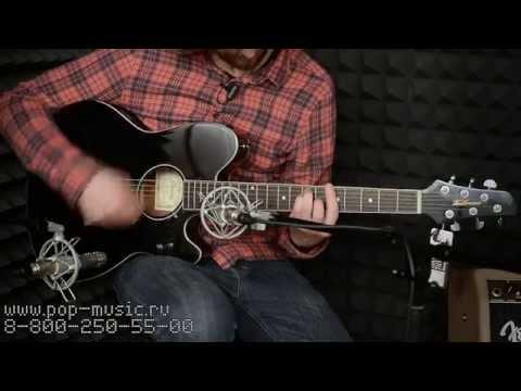 Ibanez TCY10E-BK Talman Electro-Acoustic Guitar (Black)