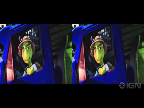 Sly Cooper Movie Trailer in 3D (2016)