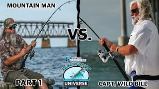 Capt. Wild Bill vs. Mountain Man - Giant Tarpon in the Florida Keys