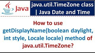How to use getDisplayName(boolean daylight, int style, Locale locale) method of java.util.TimeZone