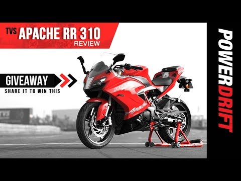 TVS Apache RR 310 First Ride Review : The New Contender? +Giveaway!